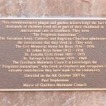 Remembrance Plaque