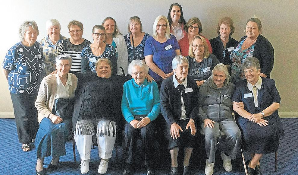 Goulburn Reunion St Joseph's Girls March 2015