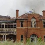 St Johns Goulburn Building On Fire
