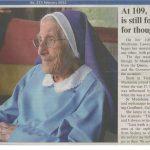 Madeleine 109 Birthday