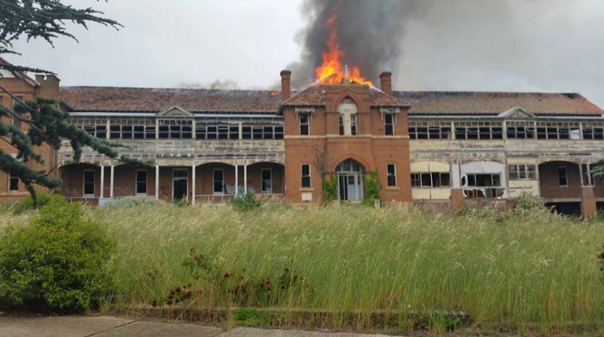 St John's Orphanage is Burning Down!